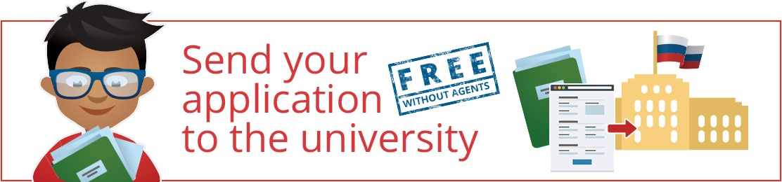 Study in Russia - Register and send your application to the university