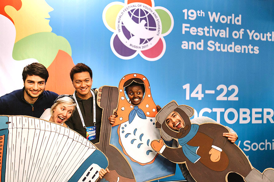 Russia Welcomes International Guests at 19th World Festival of Youth and Students