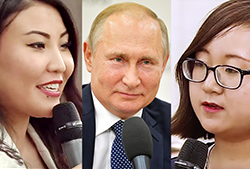 Vladimir Putin Meets with UrFU Students