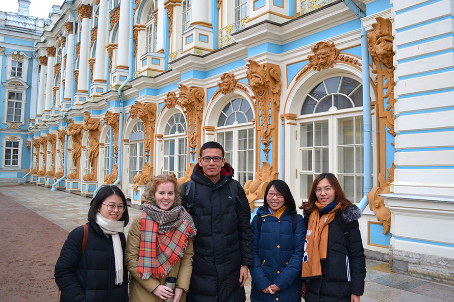 Study Russian in St Petersburg