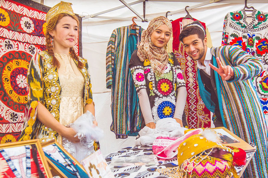 More than 300 International Students Take Part in Siberian Federal University Festival