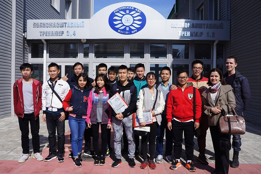 MEPhI Vietnamese Students Gain NPP Hands-on Experience