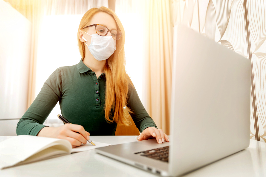 Online Learning During Pandemic in Figures