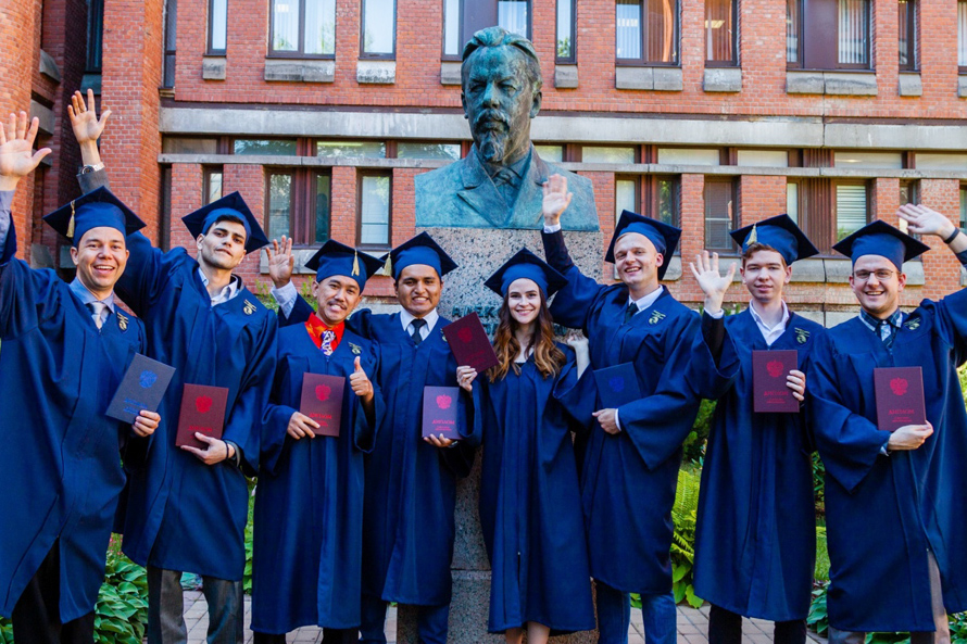 International Students Get Master's Degree from LETI